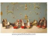 Realism Still Life- Dancers- Art Print