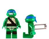 LEGO Cufflinks - Teenage Mutant Ninja Turtles Leonardo