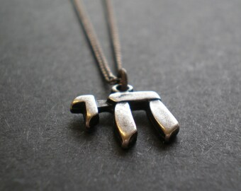 """Chai Necklace - Hanukah Gift Teen - Hebrew Word - Letters """"Life"""" Bar/Bat Mitzvah Gift - חי - Birthday Girl Woman Man - Oxidized Silver Tone"""