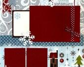 Winter Wonderland - 12x12 Premade Scrapbook Page