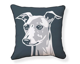 Big Greyhound Pillow