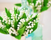 Made to Order - Lily of the Valley Flowers in a Silver Mint Julep Cup