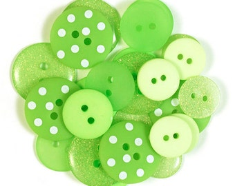 Limeade Button Assortment