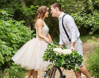 adult tutu engagement tulle skirt blush wedding tutu all sizes