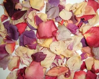 Rose Petals Freeze Dried - 5 cups