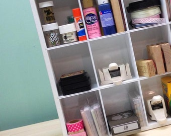 Cubby Storage Organizer for craft supplies and more