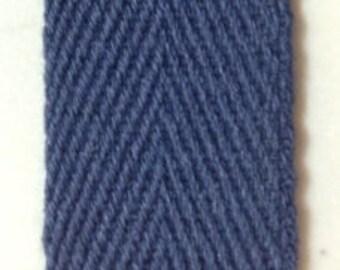 Navy Cotton Binding Tape Five Yards