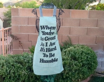 HUMBLE THEME Apron - Any Size