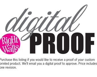 Digital Proof of Custom Product