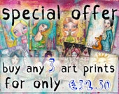 SPECIAL OFFER - Buy 3 Art Prints at a Reduced Price