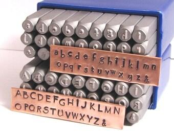 hand print 3 mm letter set steel letter set hand print font hand print letters hand print alphabet metal stamping set