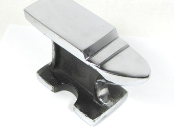 BIG Hoss Horn Anvil Large stable metal working tool, Face is 6.25 x 2 inches 4 inches Tall Stamping forging