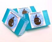 Magic The Gathering Soap ISLAND Land Mana Mini Guest Bar Handmade Glycerin Soap Ocean Water Scented