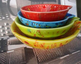 Bubblegum Stackable Measuring Cups