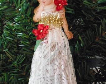 Dresden Christmas Ornament - Child Of Christmas
