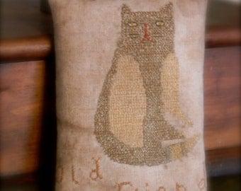Old Friend - FREEHAND Cross Stitch PATTERN - from Notforgotten Farm