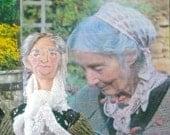 Tasha Tudor Doll Miniature Historical Women Art Character Fan Art
