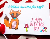 What Does the Fox Say? Valentine Classroom Set