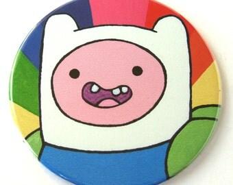 Adventure Time Magnet // Finn the Human Fan Art