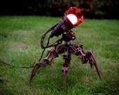 Steampunk Robot Lamp ED-X01
