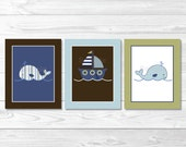 Cute Nautical Nursery Wal...