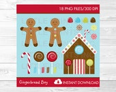 Gingerbread Clipart Candy...