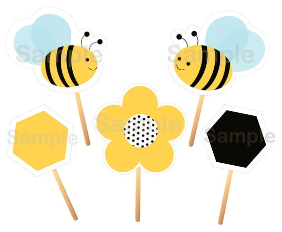 Smart image throughout printable bumble bee cutouts