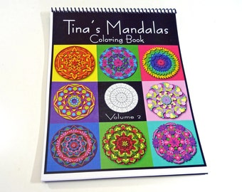 Mandala Coloring Book - VOLUME 2