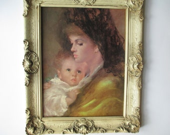 Mother Love by Gentilini Print Framed Wall Hanging