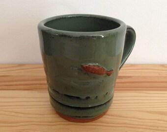 Upstream - 14 oz Fish Mug