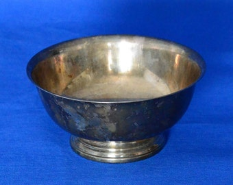 Paul Revere Silver Plated Hollowware Bowl by Gorham