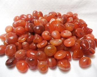 2 CARNELIAN Healing Stone Healing Crystal Chakra Energy Stone Reiki Motivation Spiritual