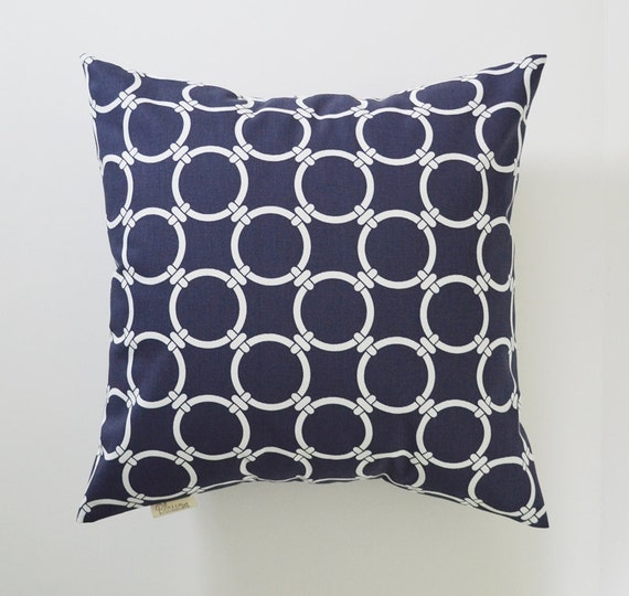 Throw Pillow Covers Nautical : Nautical Pillow Cover Decorative Pillows Porthole Throw