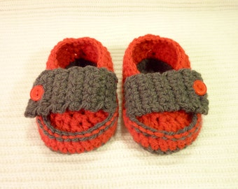 Baby bootees Little prince loafers shoes to fit newborn baby