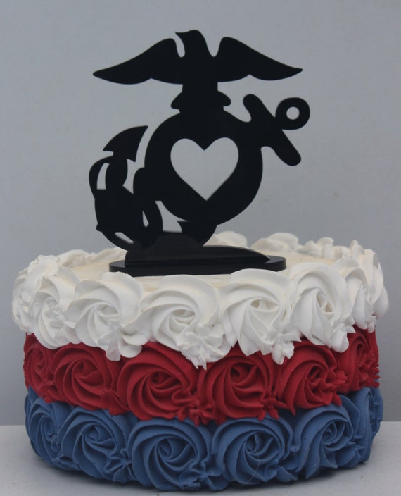 marine wedding cake ideas usmc marine corps wedding cake topper groom 17136
