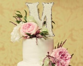 Wedding Cake Topper, Bride and Groom, Mr and Mrs, Wood Cake Toppers, Any Letter A to Z