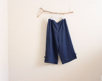 custom linen cropped peasant pants made to fit listing