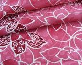 Japanese Kimono Fabric - Petals in Pink