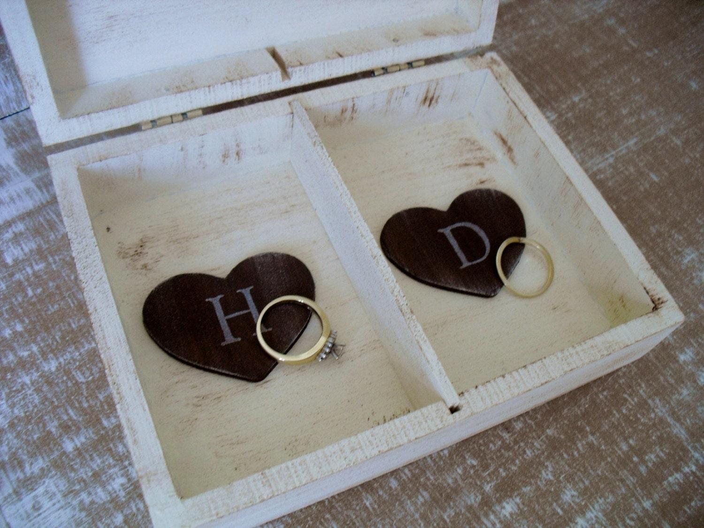 Shabby Chic Pillow Boxes : Wedding Ring Box Shabby Chic Ring Bearer Pillow Alternative