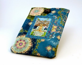 Paperwhite Kindle Cover eReader Case Fabric Buddha