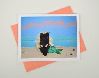 AC is a Mermaid Greeting Card