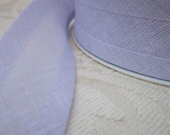 25m Pale Lilac Cotton Bias Binding