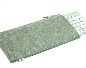 Apple Wireless Keyboard sleeve in 100% wool felt, handmade in the Netherlands