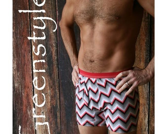 Instant Download GreenStyle Walbrook Boxer Briefs in sizes S to XXXL