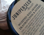 Frankincense and Myrrh Whipped Shea Butter Mousse - 2 ounce gift size