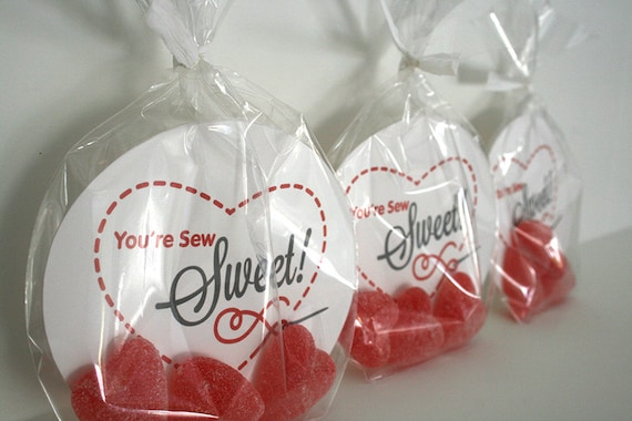 Printable Valentine's Cards - You're Sew Sweet!