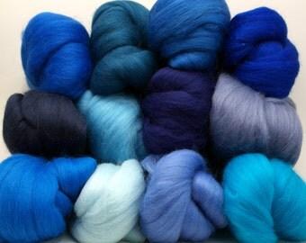 Merino Wool Color Pack - Blues