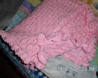 Baby blanket appx. 33 x 40