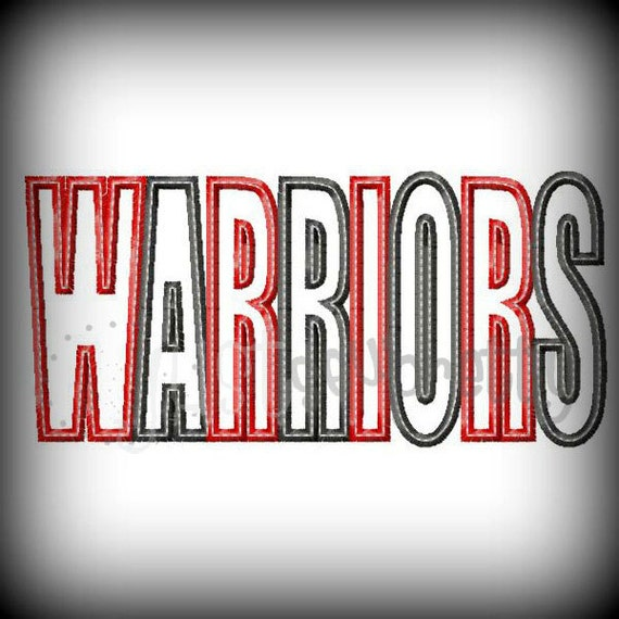 Warriors Don T Cry Pdf Book: Warriors Word Embroidery Applique Design
