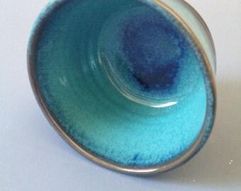 Turquiose Stoneware Ramekin